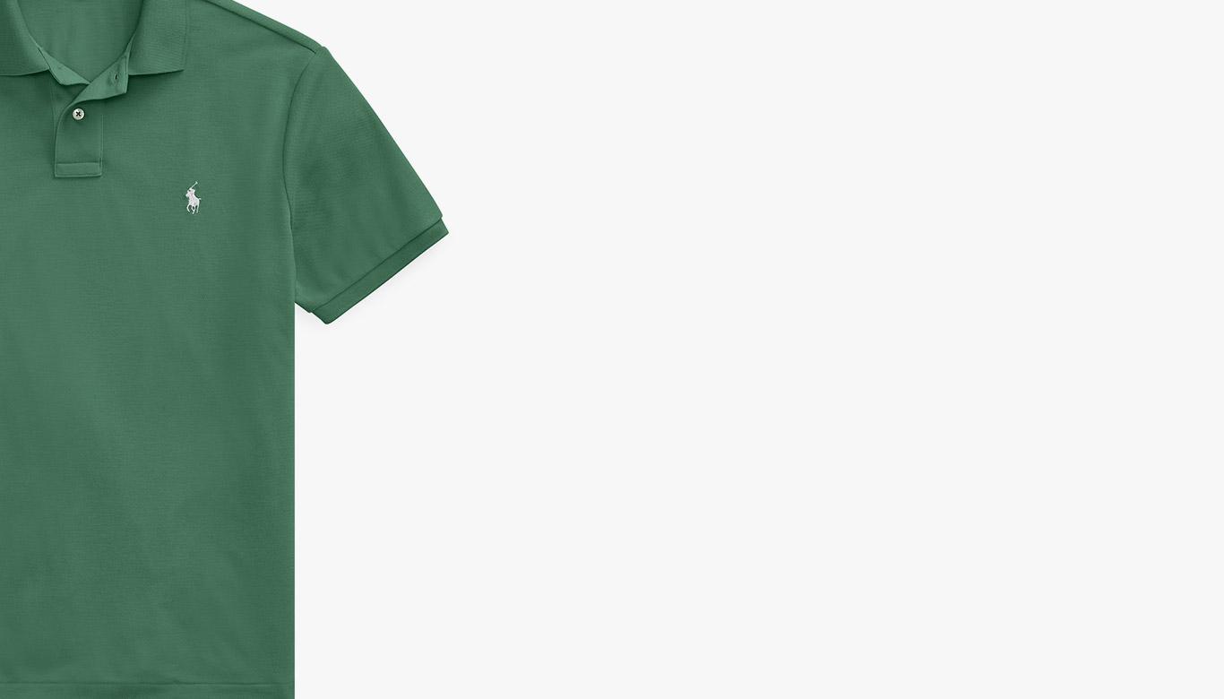 Green Earth Polo shirt.