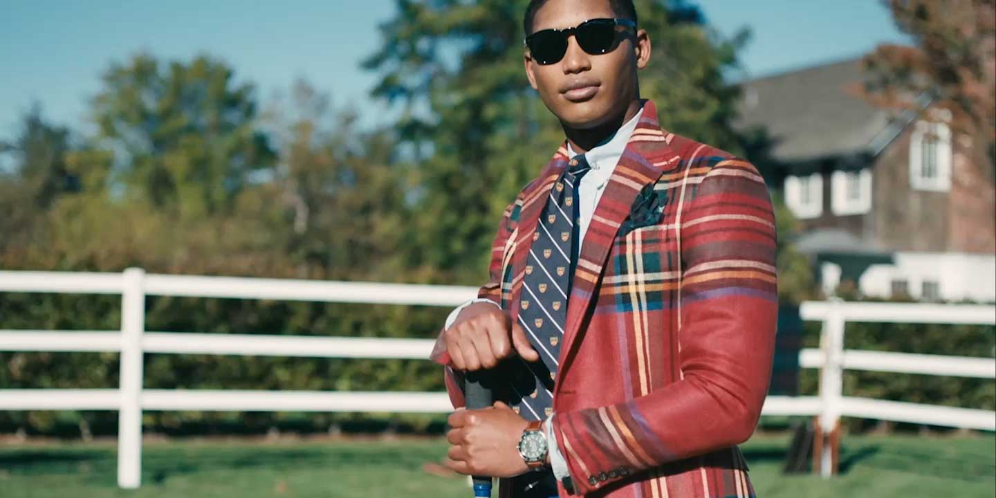 Video of men wearing Hamptons-inspired Polo styles