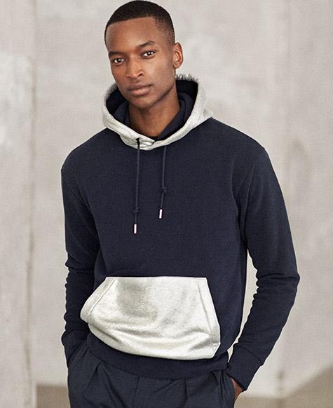 RLX Fleece-Kapuzenshirt