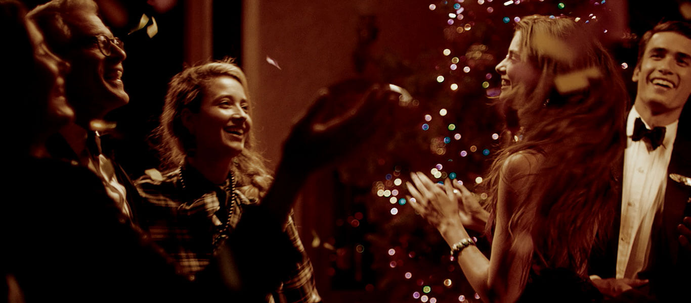 Video of families & friends wearing Polo holiday & winter styles