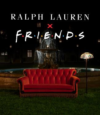 Ralph Lauren x Friends logo